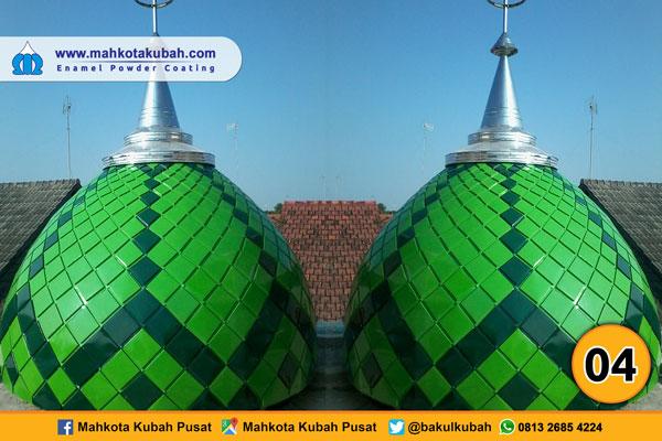 kubah masjid enamel teflon 3