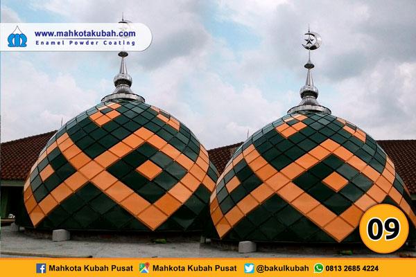 kubah masjid enamel teflon 8
