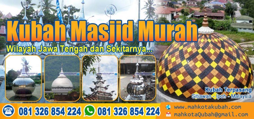 jual kubah masjid jawa tengah